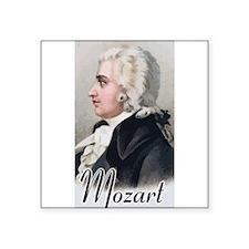 "Mozart Square Sticker 3"" x 3"""
