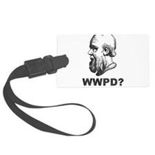 What Would Plato Do? Luggage Tag