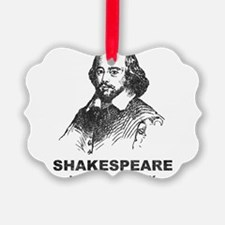 Shakespeare Is My Homeboy Ornament