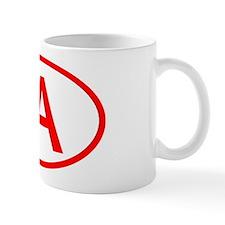 IA Oval - Iowa Mug