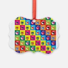 Pop Art Apple Ornament