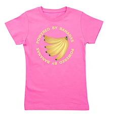Powered By Banana Girl's Tee