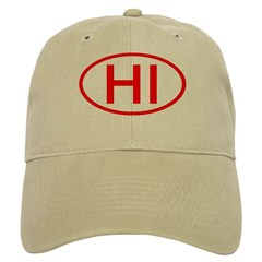 HI Oval - Hawaii Baseball Cap