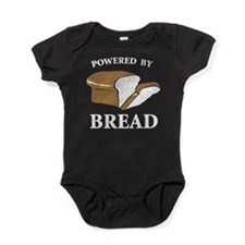Powered By Bread Baby Bodysuit