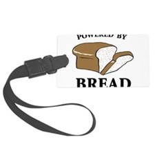 Powered By Bread Luggage Tag