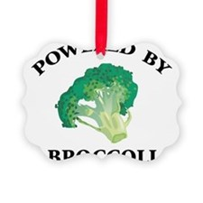 Powered By Broccoli Ornament