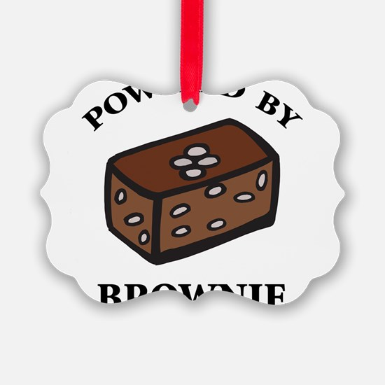 Powered By Brownie Ornament