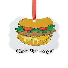 Got Burger Ornament
