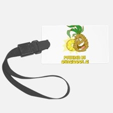 Powered By Pineapple Luggage Tag