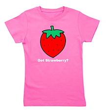 Got Strawberry? Girl's Tee