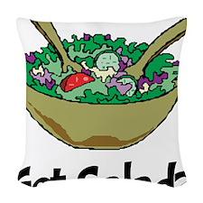 Got Salad Woven Throw Pillow