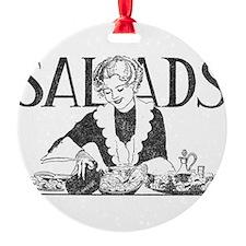 Retro Salad Ornament
