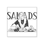 Retro Salad Square Sticker 3