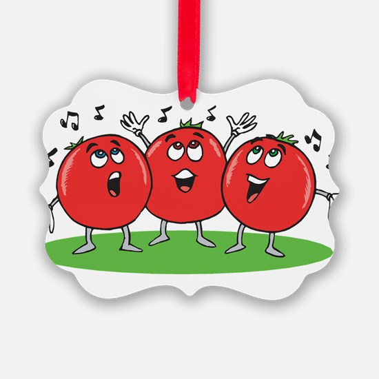 Singing Tomatoes Ornament