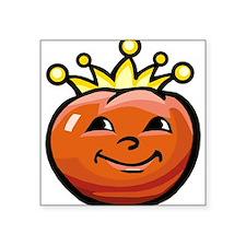 "Tomato King Square Sticker 3"" x 3"""