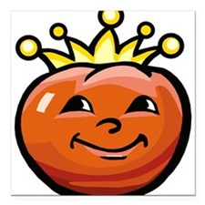 "Tomato King Square Car Magnet 3"" x 3"""
