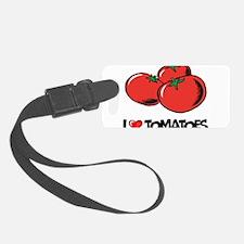 I Love Tomatoes Luggage Tag