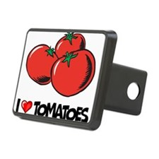 I Love Tomatoes Hitch Cover