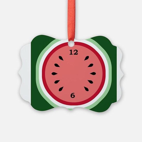 Unique Watermelon Picture Ornament