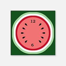 """Cute Watermelon Square Sticker 3"""" x 3"""""""