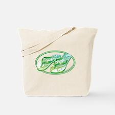 Beach Flop-Flops Gotcha Green Tote Bag