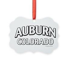 Auburn Colorado Ornament