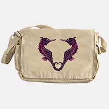 Seahorses Messenger Bag
