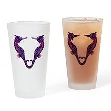 Seahorses Drinking Glass