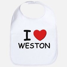 I love Weston Bib