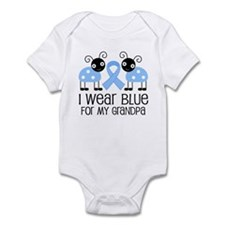 Grandpa Light Blue Awareness Infant Bodysuit