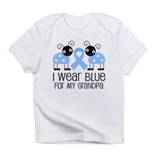 Grandpa Light Blue Awareness Infant T-Shirt