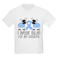 Grandpa Light Blue Awareness T-Shirt