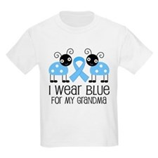 Grandma Light Blue Awareness T-Shirt