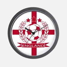 England football soccer Wall Clock