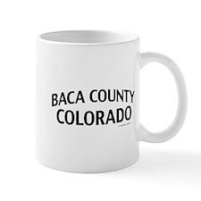 Baca County Colorado Mug