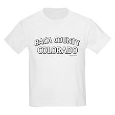 Baca County Colorado T-Shirt