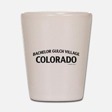 Bachelor Gulch Village Colorado Shot Glass