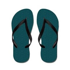 Rough Green Look Flip Flops