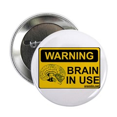 Brain in Use Button