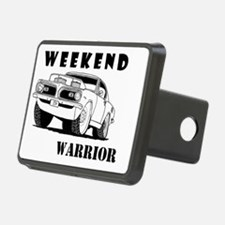 Weekend Warrior at the Drags Hitch Cover