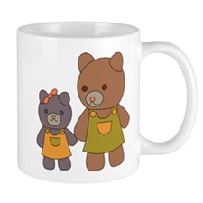 Teddy Bear Siblings Mug
