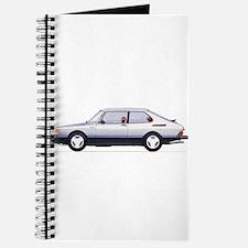Silver Saab 900 Journal