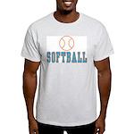 Softball Ash Grey T-Shirt