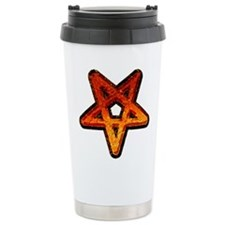 Heavy Metal Pentagram Travel Mug