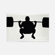 Lifting Weight Rectangle Magnet