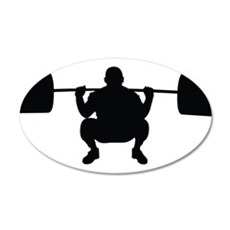 Lifting Weight Wall Decal