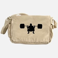 Lifting Weight Messenger Bag