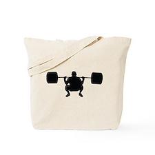 Lifting Weight Tote Bag