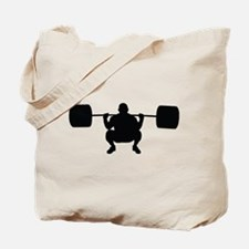 Lifting Weight Tote Bag