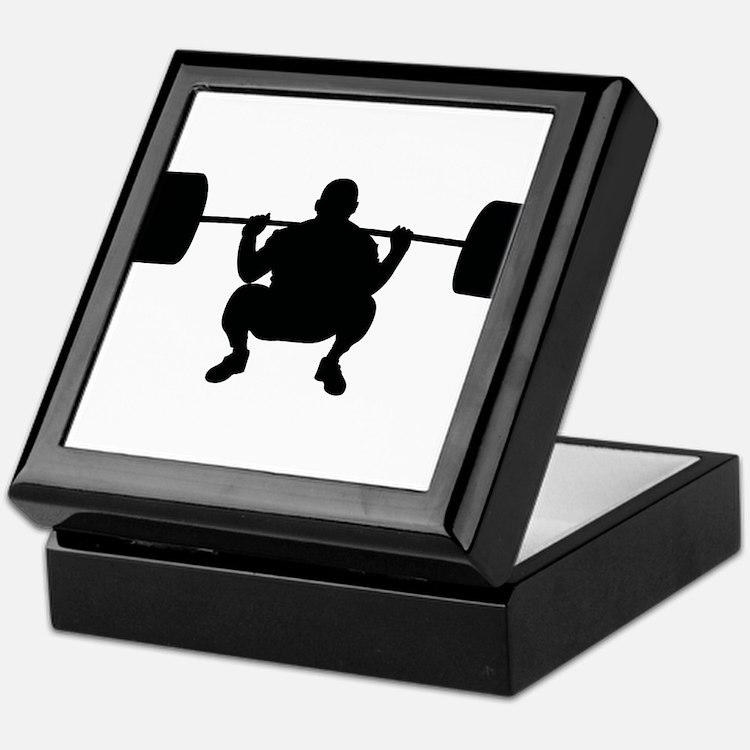 Lifting Weight Keepsake Box